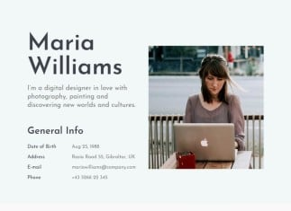 Civic - Resume Portfolio Template Free