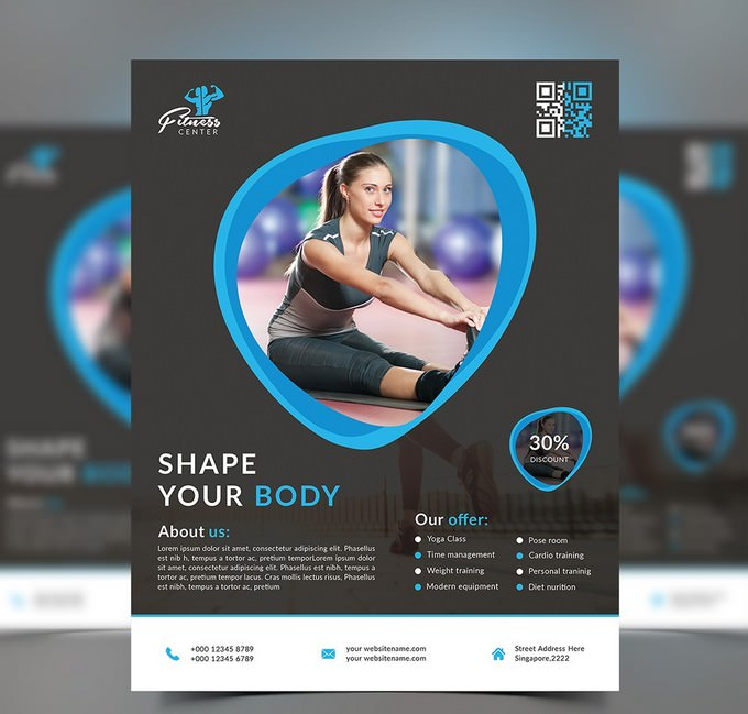 Corporate Fitness Flyer