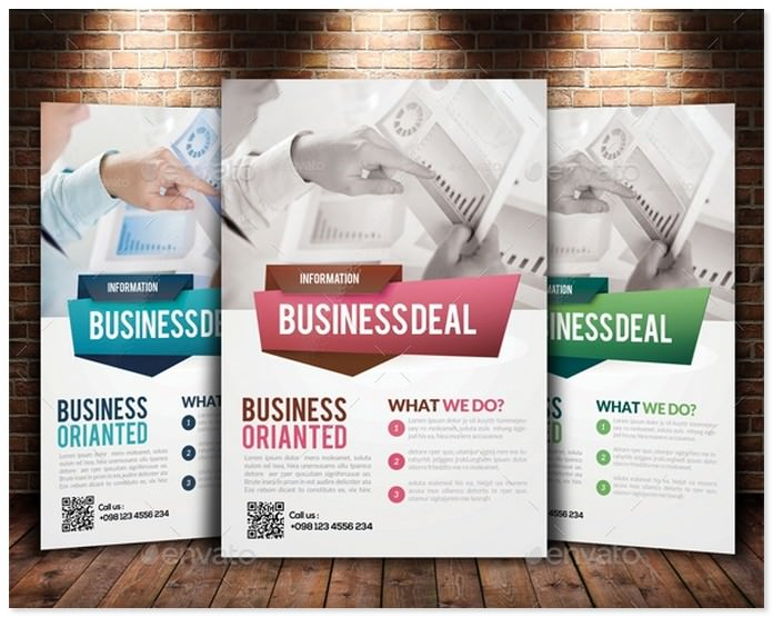 Corporate Strategy Planning Flyer Bundle