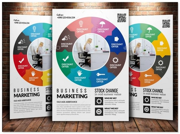 Corporate Strategy Planning Flyer Template
