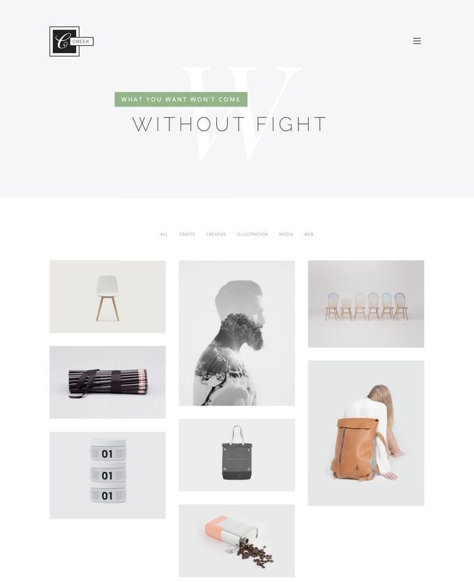 Creek - Creative Agency Portfolio HTML5 Theme