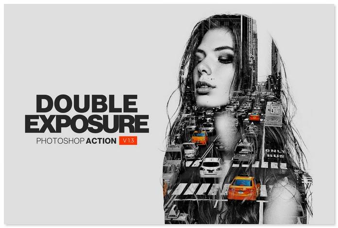 Double Exposure Insta Action
