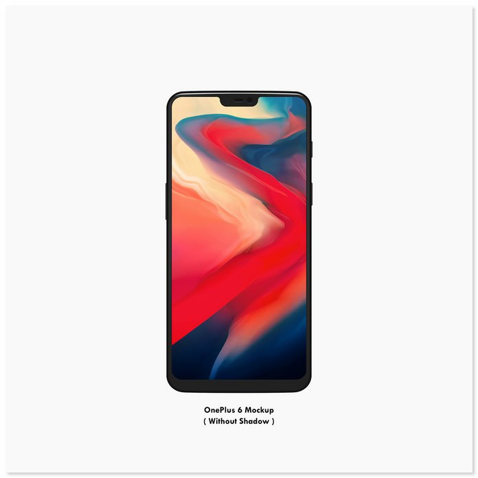 Download OnePlus 6 Vector Mockup