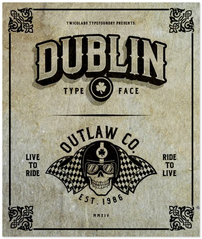 Dublin Family Typeface