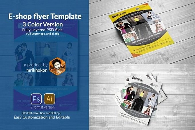 E-Shop Flyer Template