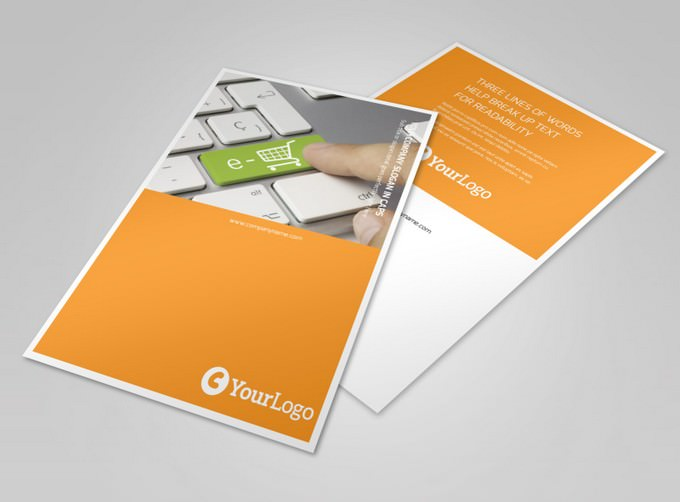 Ecommerce Business Consulting Flyer Template