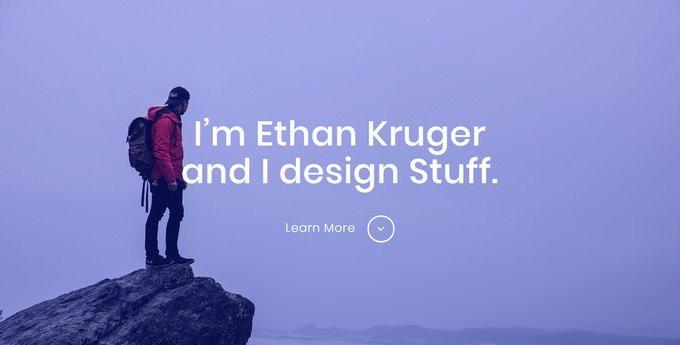 Ethan - HTML5 Personal Portfolio Website Template Free