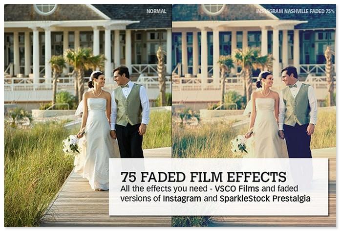 Faded Films Instagram 72 Film & Retro Effect