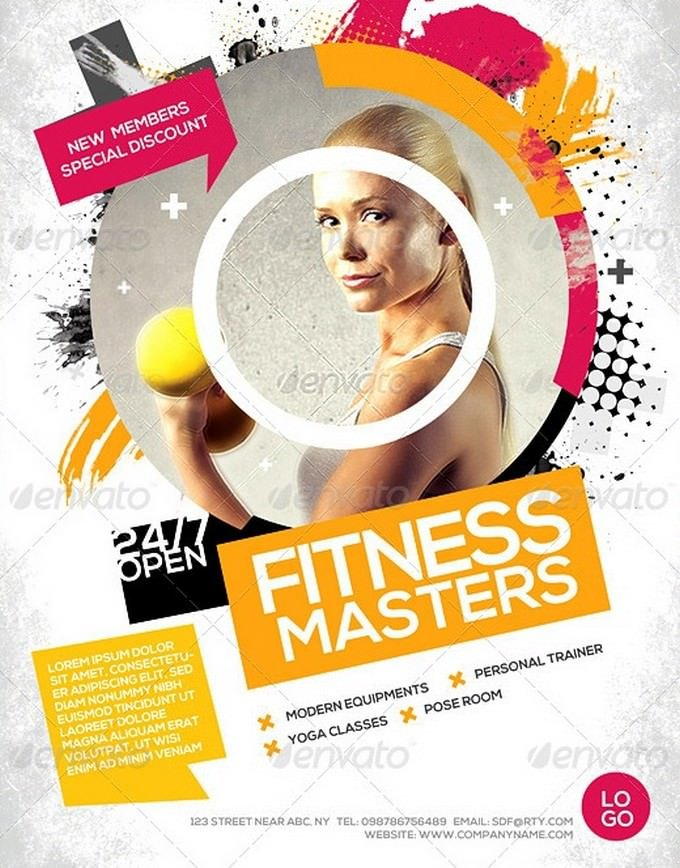 Fitness Master Flyer Gym Flyer
