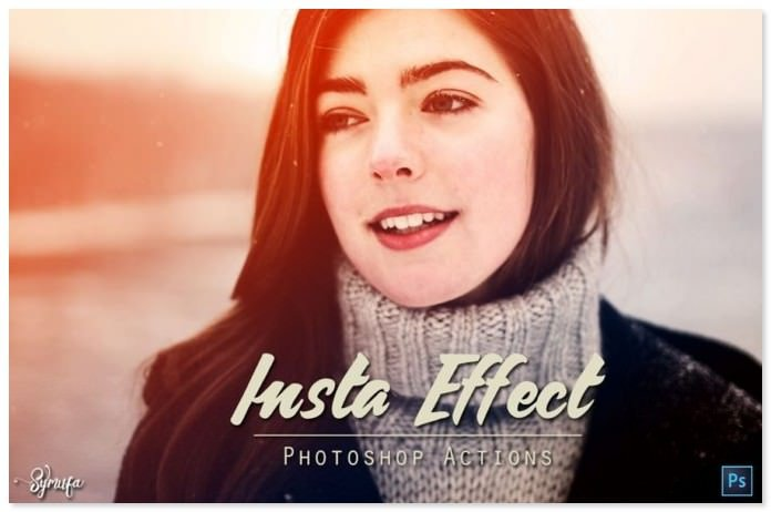 Free 45 Insta Effect Photoshop Actions