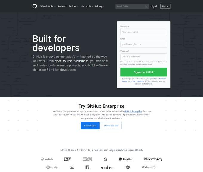GitHub is first GitLab Alternatives