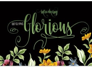 Glorious Easter Free font