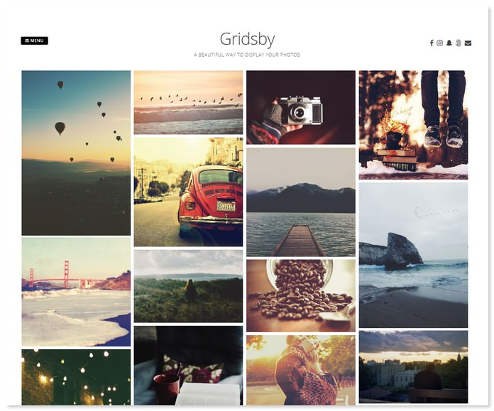 Gridsby Theme for Freelancer