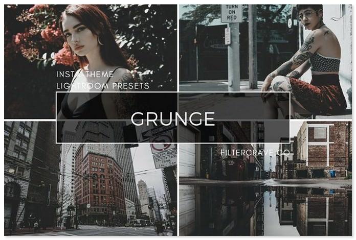 Grunge Lightroom Presets Instagram