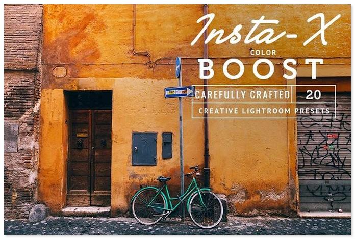 Insta-X -20- Lightroom Presets