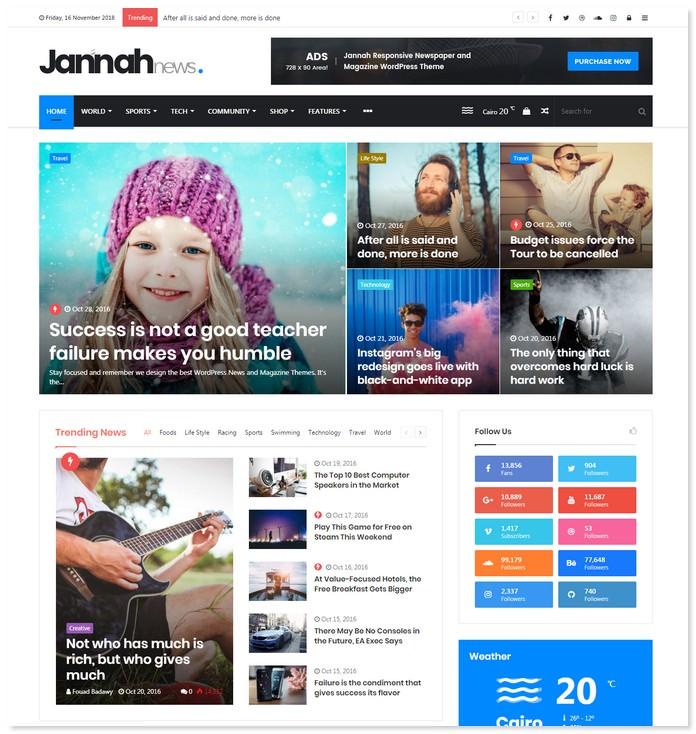 Jannah News Theme
