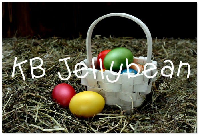 KB Jellybean Easter Font