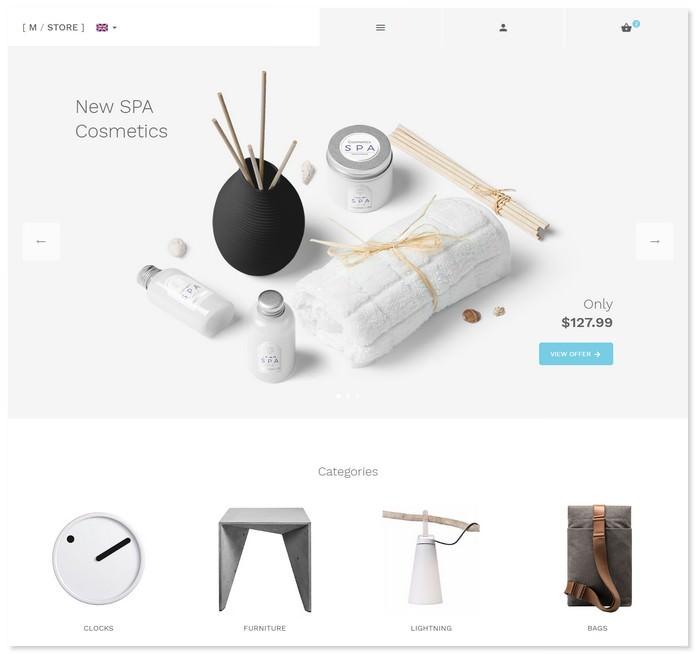 M-Store - Modern E-Commerce Bootstrap Template