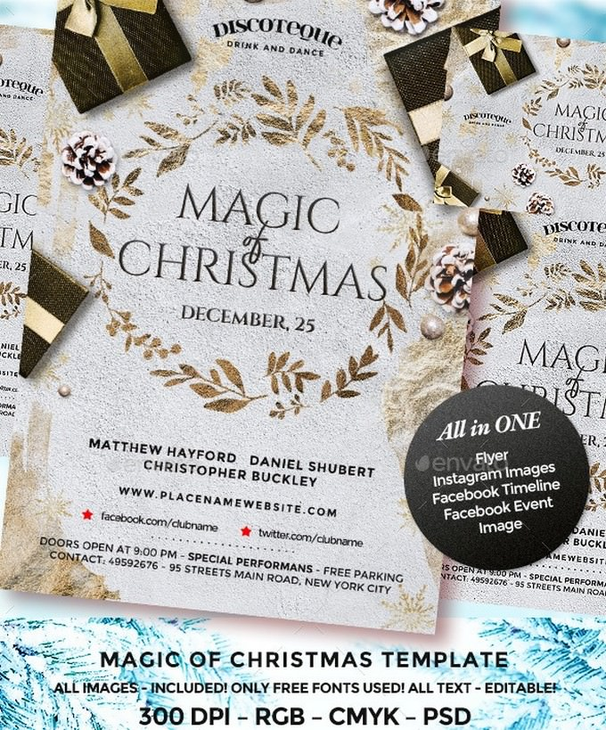 Magic Of Christmas Flyer