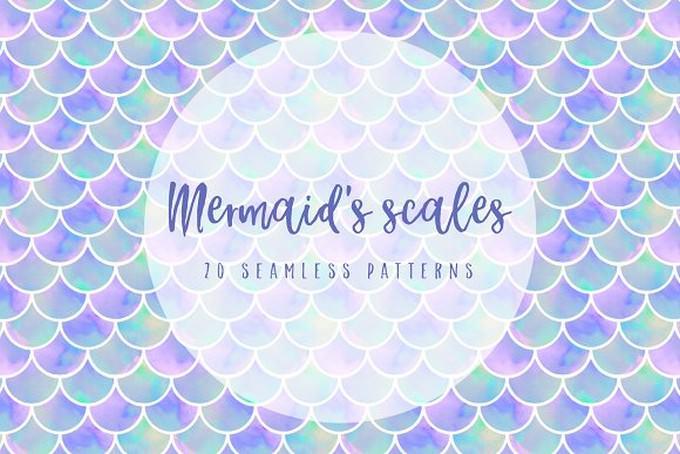 Mermaid's Scales Patterns