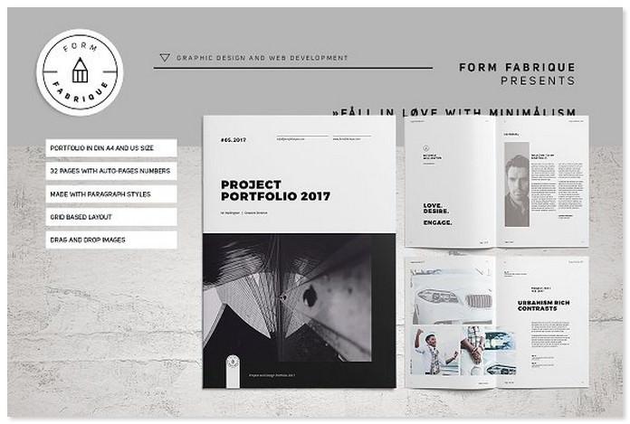 Minimalism Portfolio Catalog
