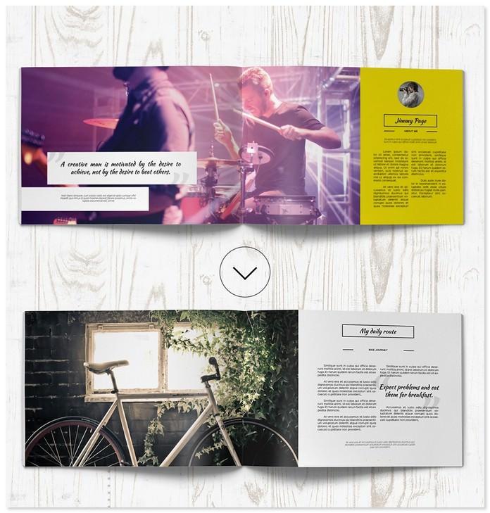 Modern Portfolio Brochure Catalog