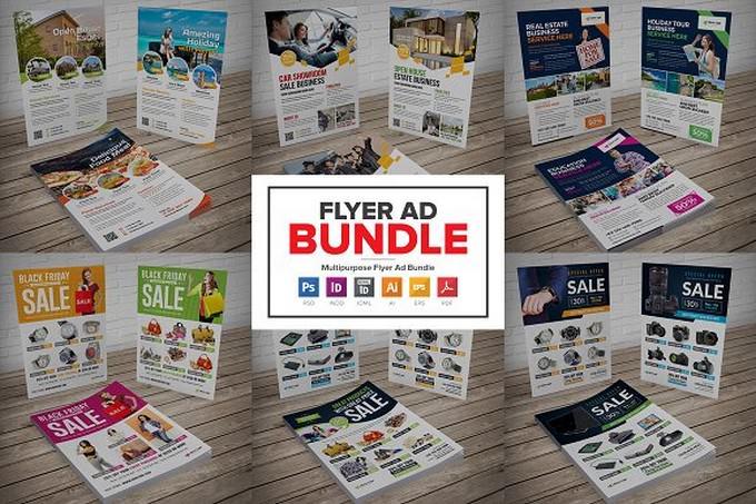 Multipurpose Flyer Design Bundle