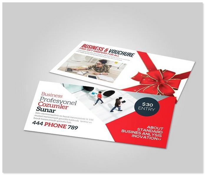 Multiuse Business Travel Gift Card Voucher