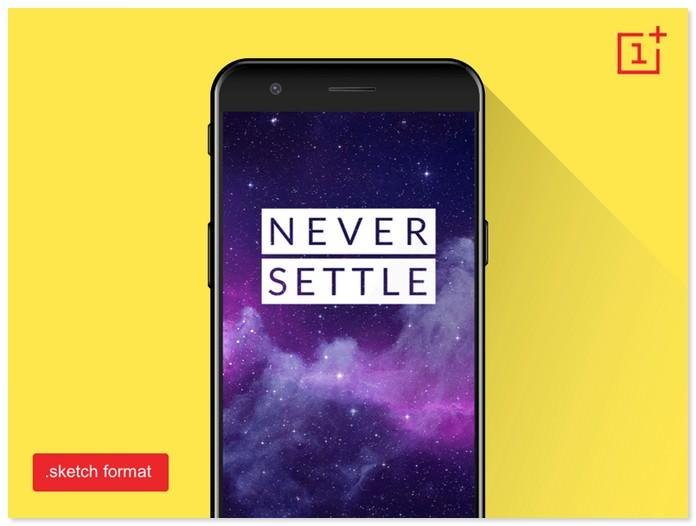OnePlus 5 Mockup