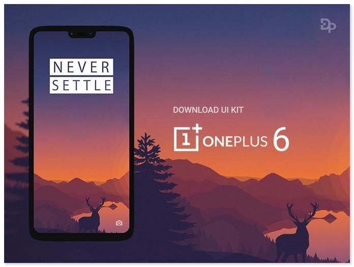 OnePlus 6 Mockup