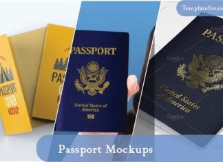 Passport Mockups