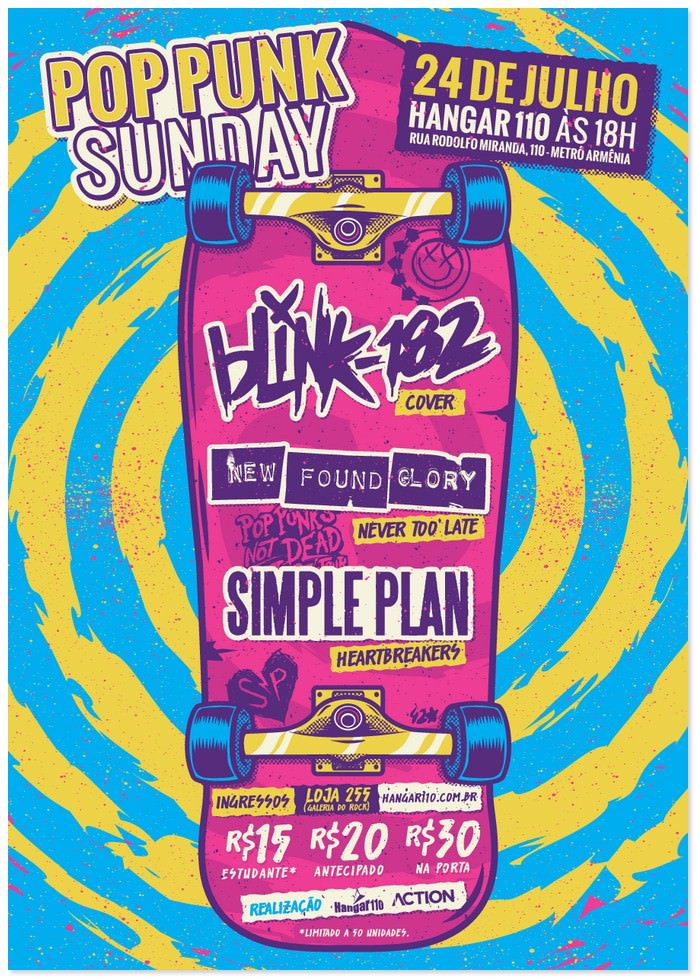 Pop Punk Sunday Flyer