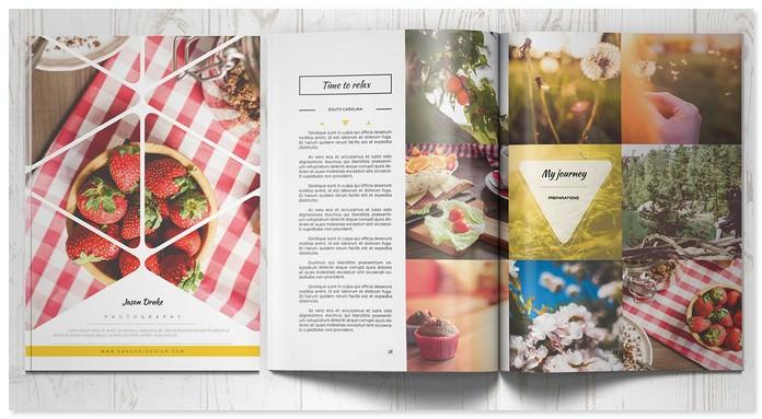 Portfolio Modern Brochure Catalog 3