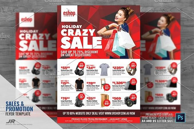 Product Sale and Promotional Sales