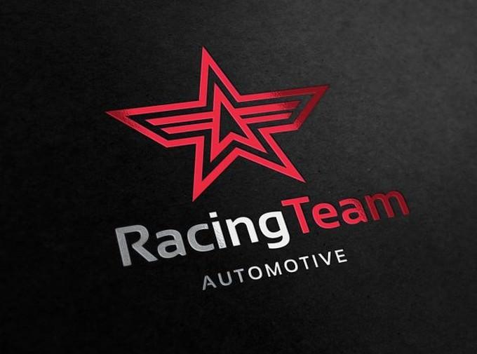 Racing Team Automotive Logo