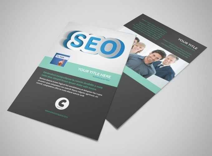 SEO Services Flyer Template