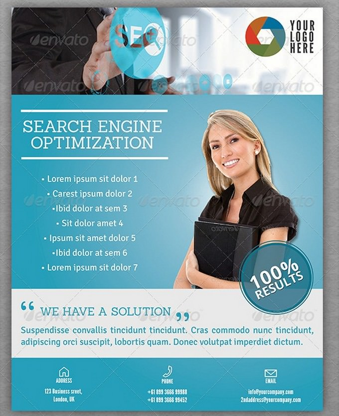 SEO Services Flyers