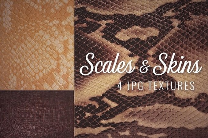 Scales And Skins Textures