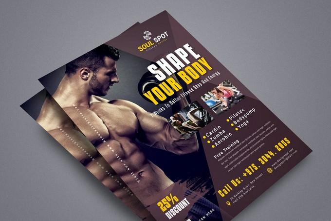 Soul Spot Fitness Flyer