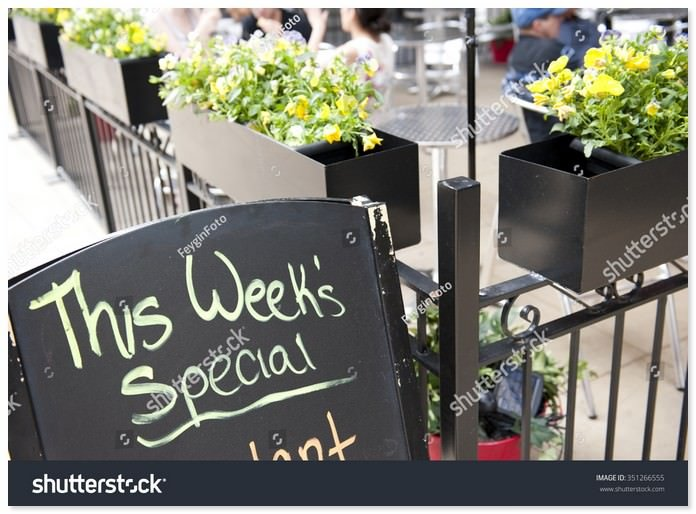 Special Menu of The Week Template