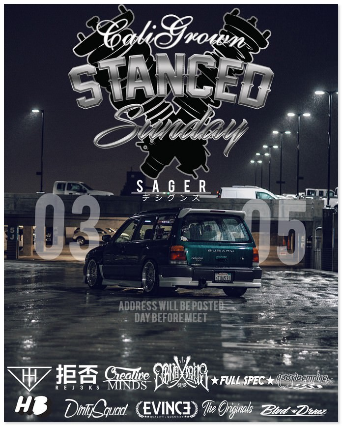 Stance Sunday Flyer