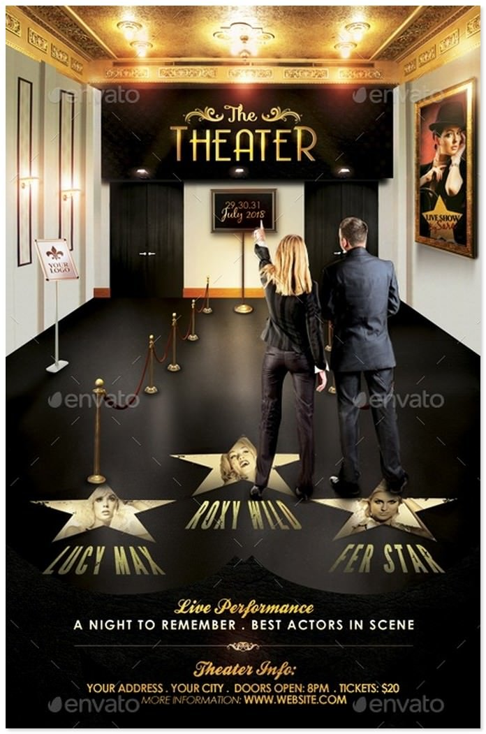 The Theater Flyer Template