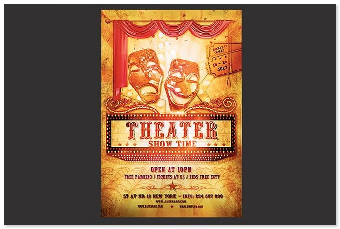 Theater Flyer Template