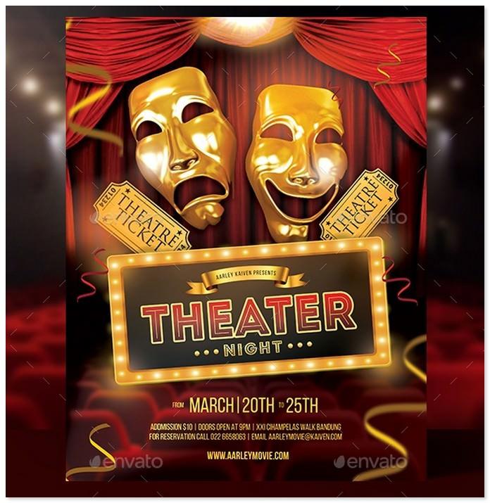 Theater Movie Flyer