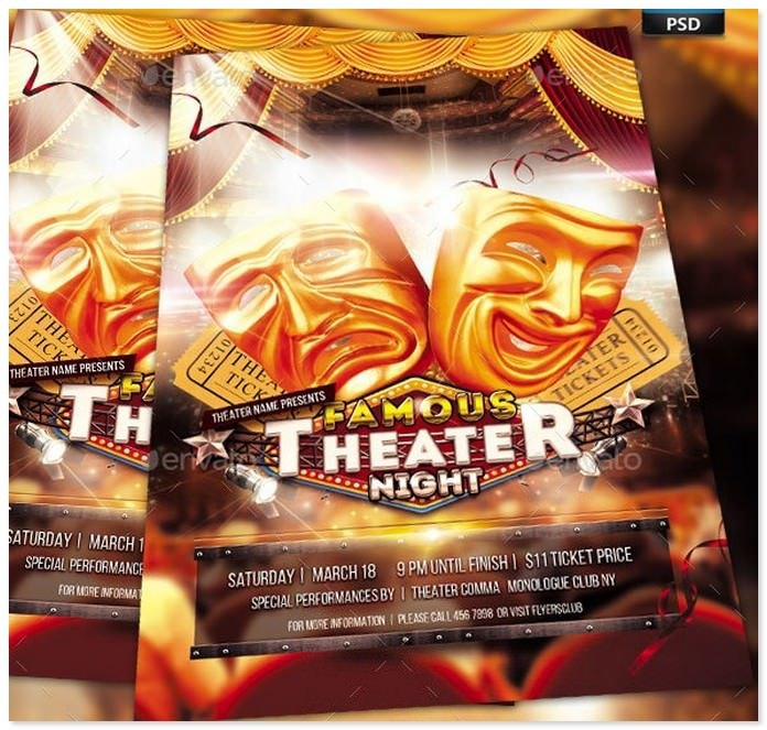 Theater Show Night Flyer