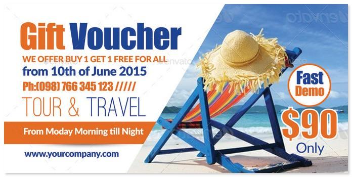 Tour Travel Gift Voucher # 3