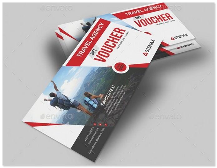 Travel Agency Gift Voucher # 2