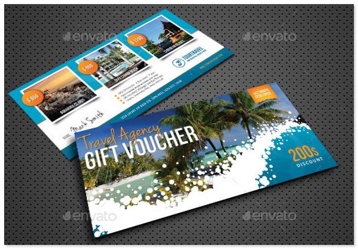 Travel Agency Gift Voucher # 4