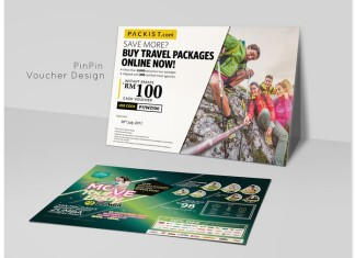Travel Voucher Design