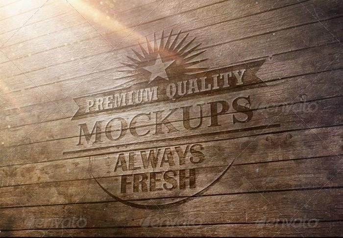 Trendy Logo Mockup